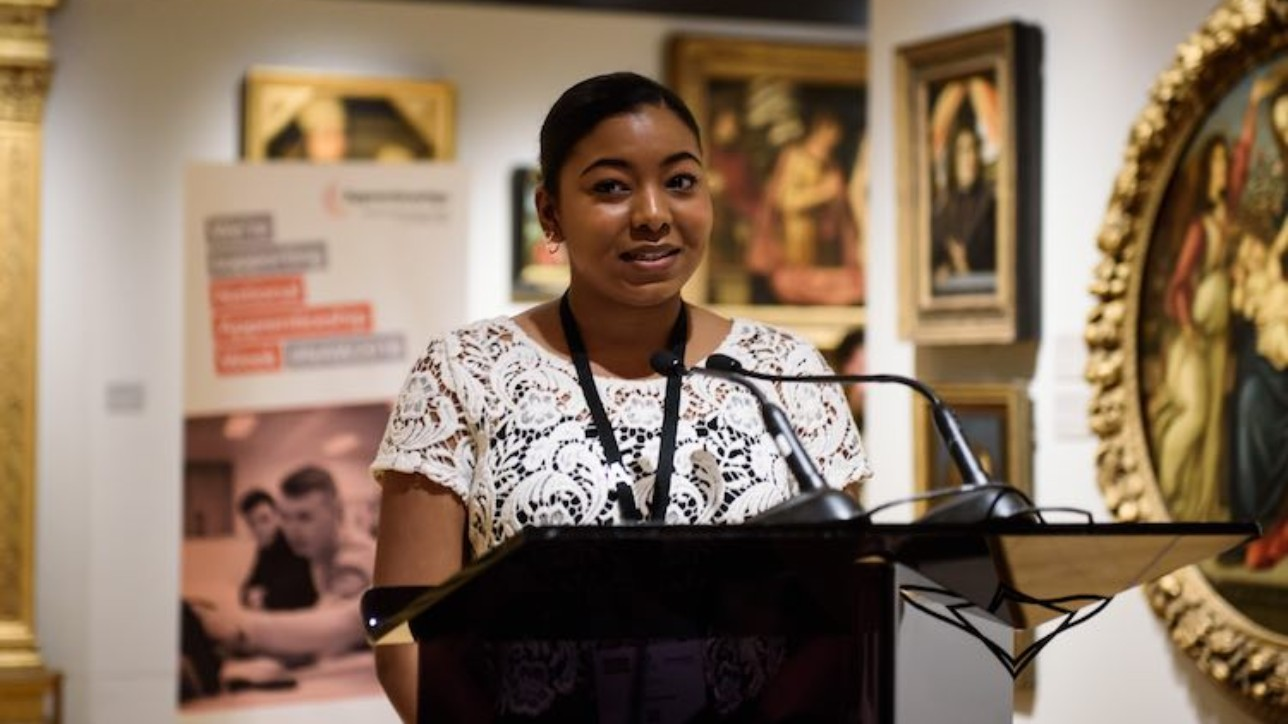 National Apprenticeship Service. International Women's Day 2018 at The National Gallery, London. 8th March, 2018. Photographer: Mary Stamm-Clarke